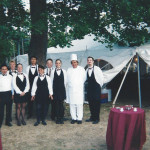 Catering Staff By Tent